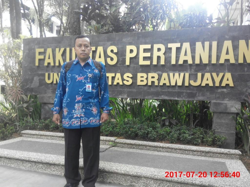 Depan Fakultas Pertanian Iniversitas Brawijaya Malang